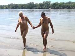 Schwarz Die Gefickt Strand Blond verschiedene unzensierte